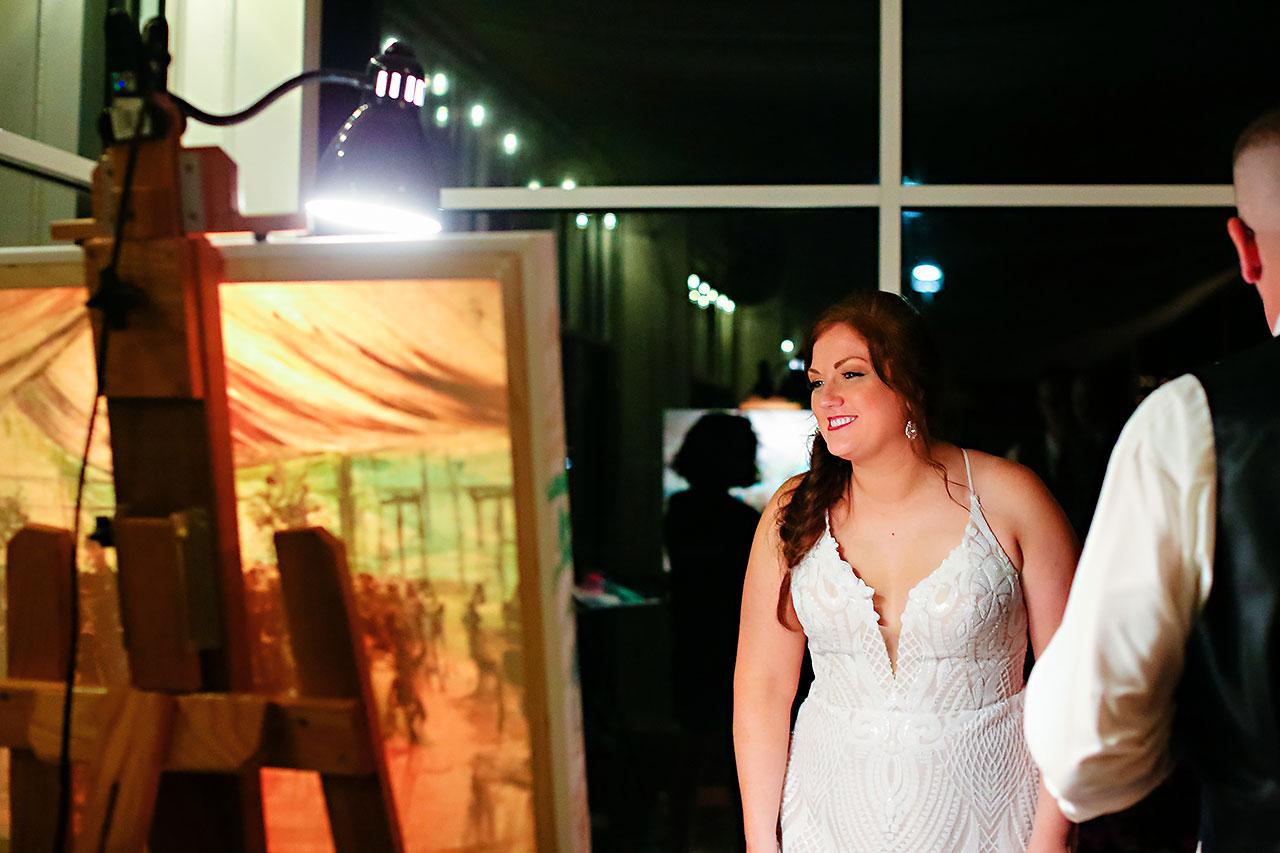Jen Chris Ritz Charles Garden Pavilion Wedding 345
