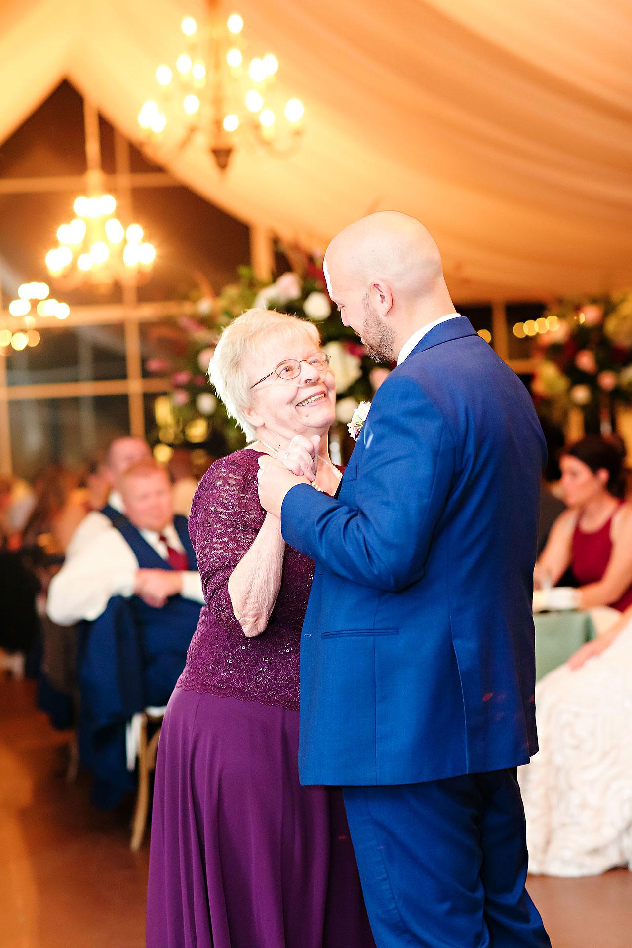 Jen Chris Ritz Charles Garden Pavilion Wedding 338