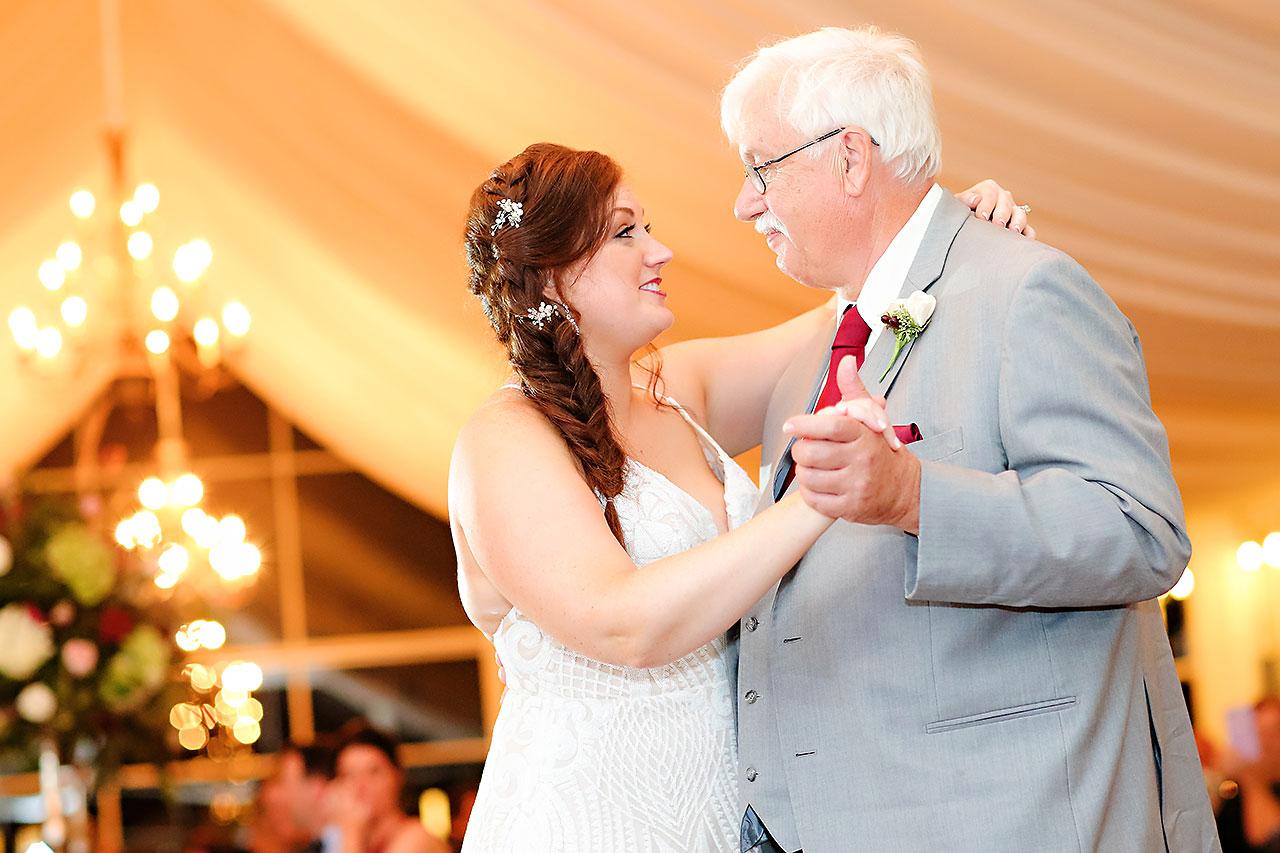 Jen Chris Ritz Charles Garden Pavilion Wedding 336