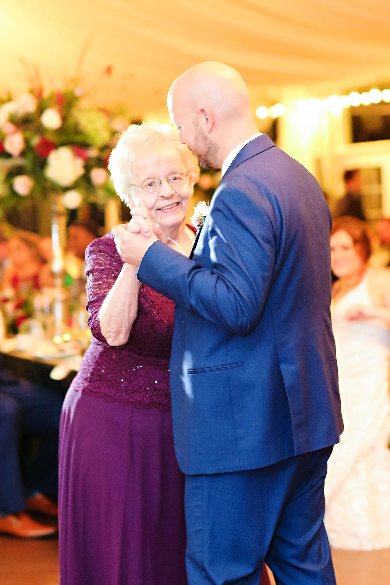Jen Chris Ritz Charles Garden Pavilion Wedding 337