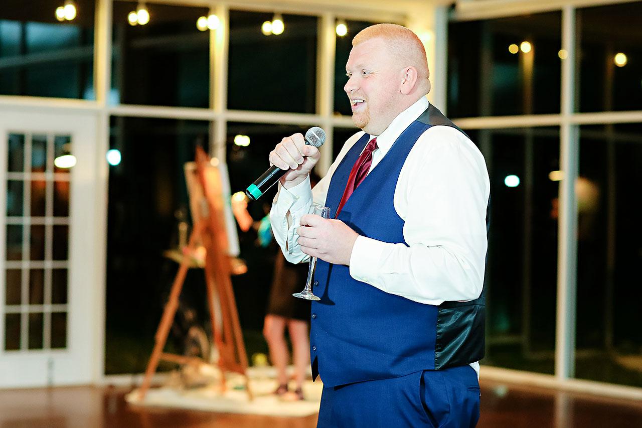 Jen Chris Ritz Charles Garden Pavilion Wedding 328