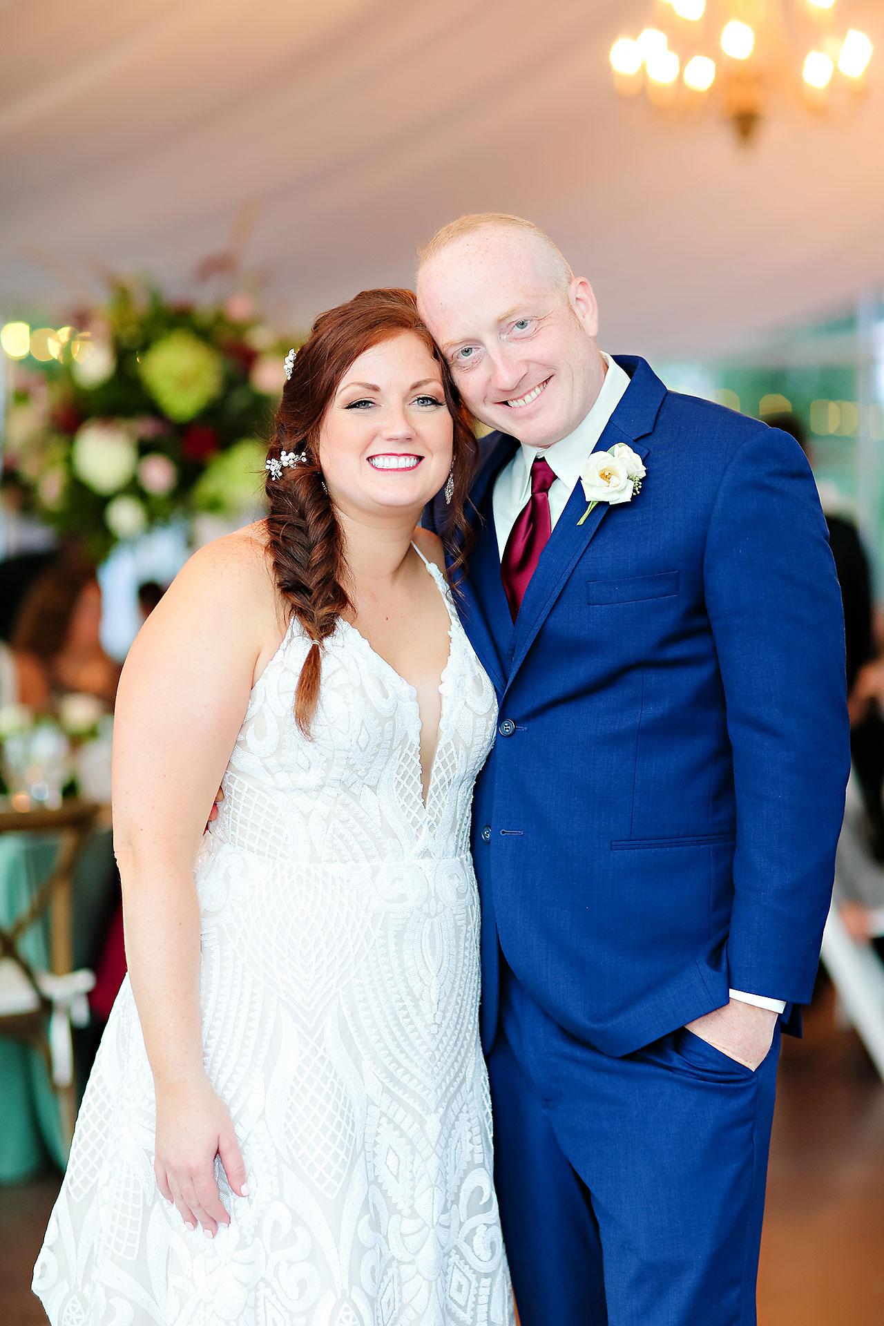 Jen Chris Ritz Charles Garden Pavilion Wedding 320