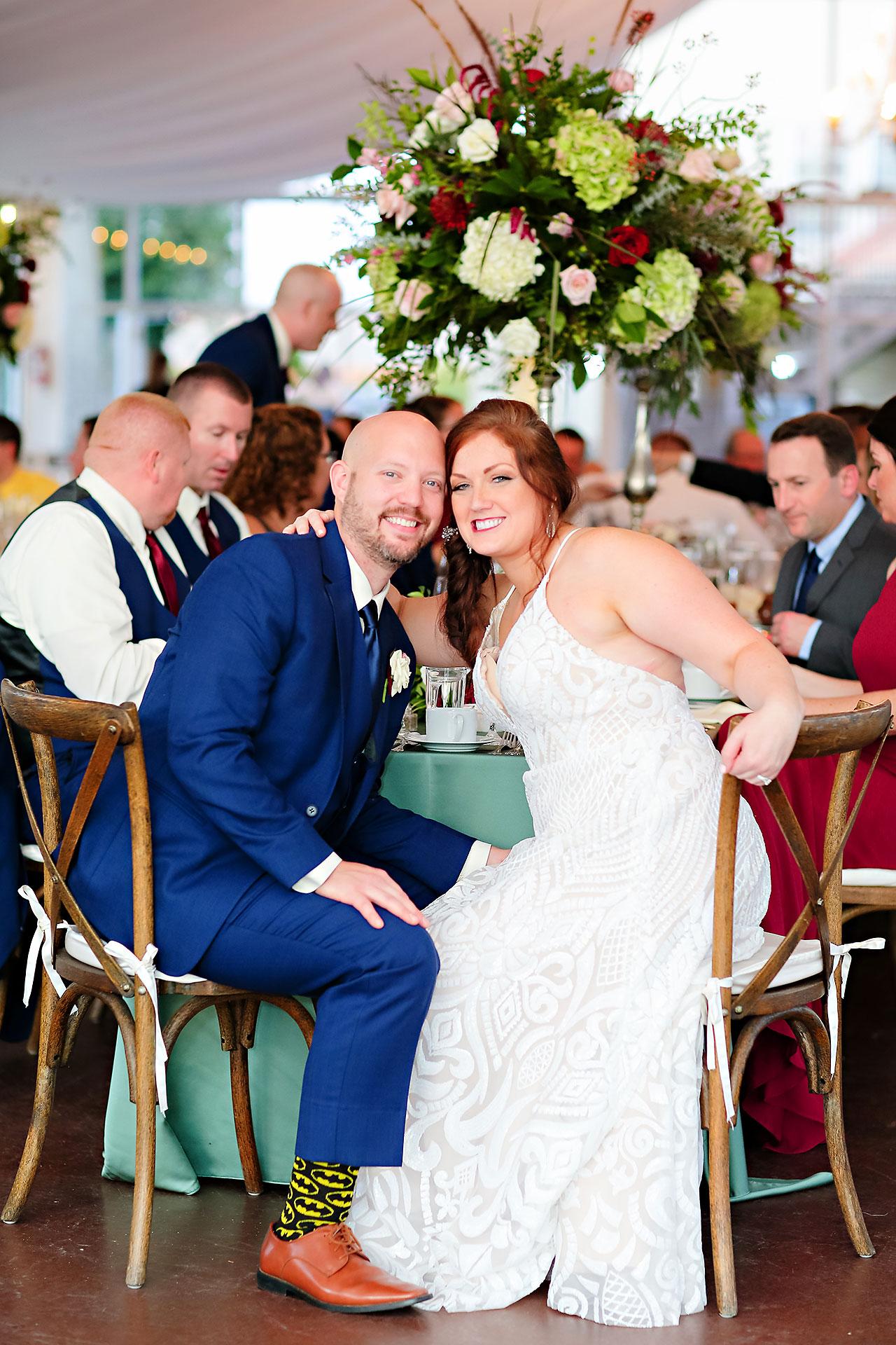 Jen Chris Ritz Charles Garden Pavilion Wedding 319