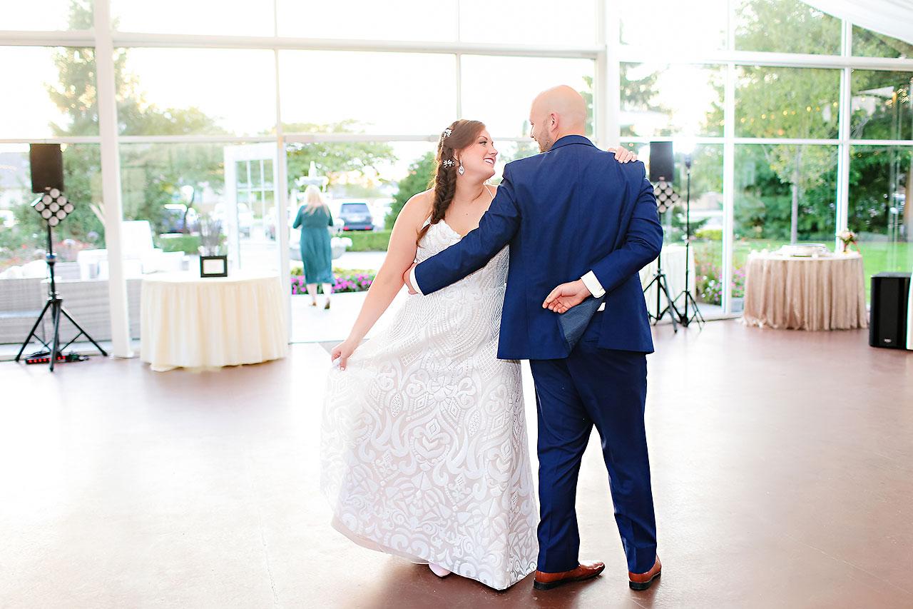 Jen Chris Ritz Charles Garden Pavilion Wedding 313