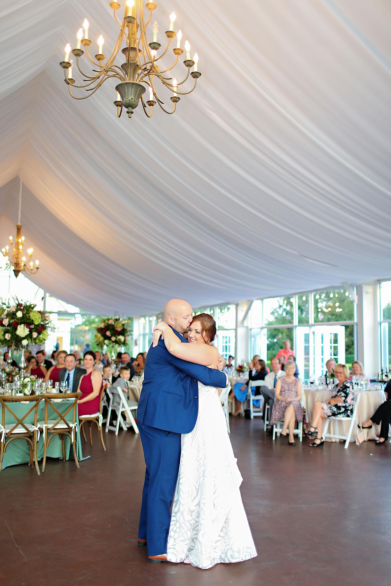 Jen Chris Ritz Charles Garden Pavilion Wedding 314