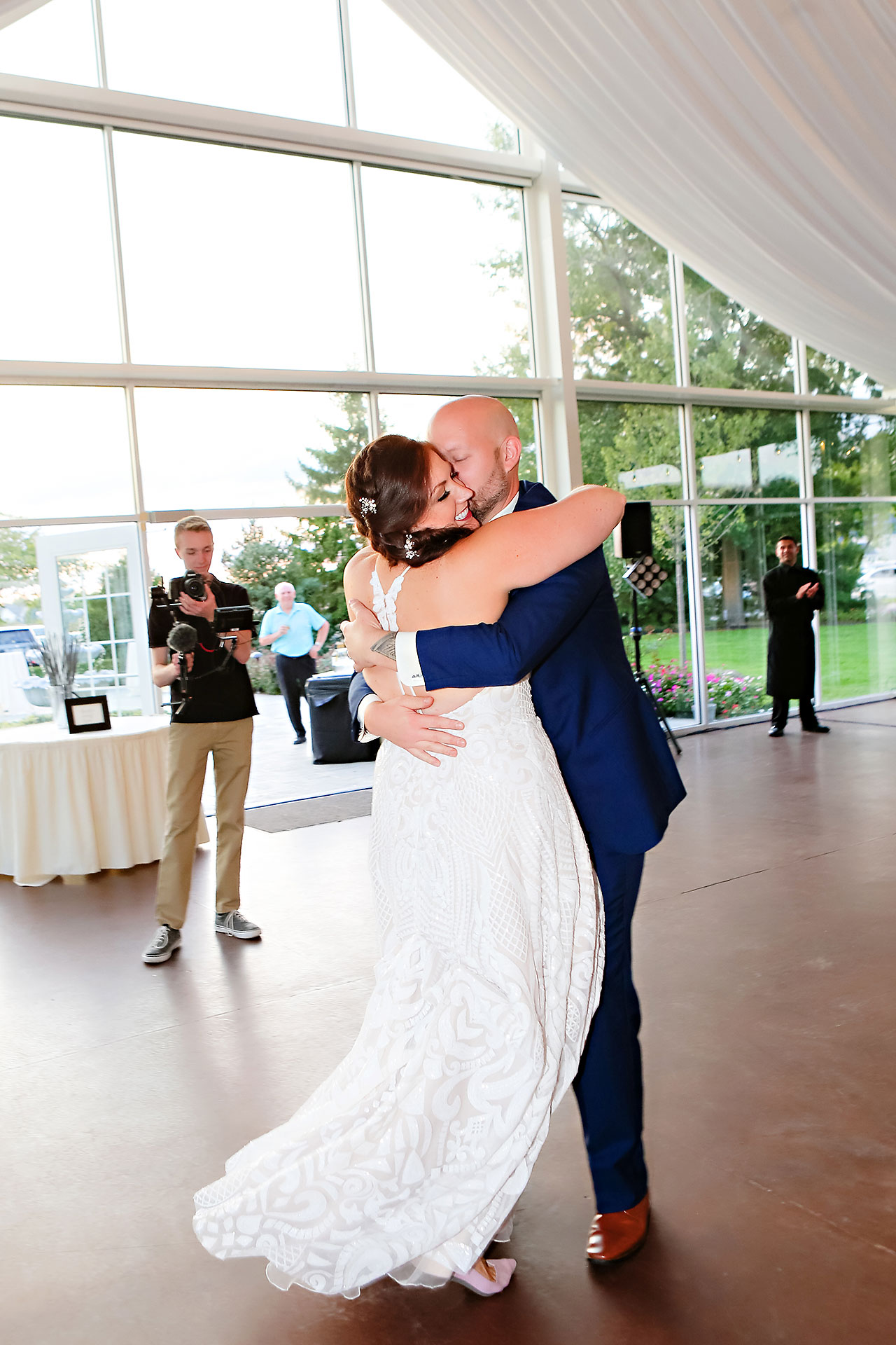 Jen Chris Ritz Charles Garden Pavilion Wedding 315