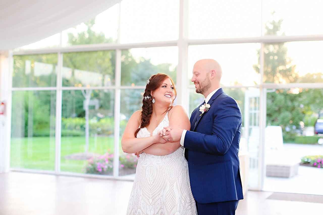 Jen Chris Ritz Charles Garden Pavilion Wedding 312