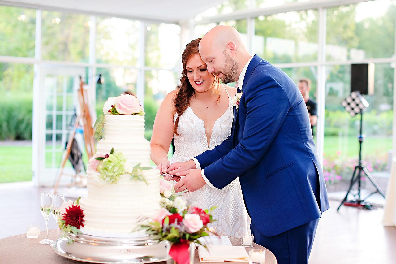 Jen Chris Ritz Charles Garden Pavilion Wedding 305