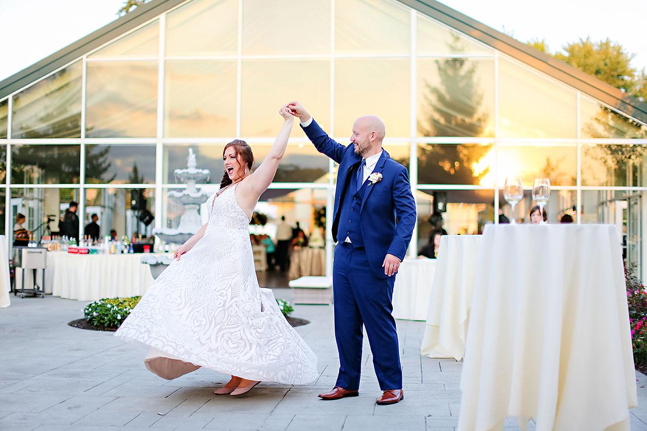 Jen Chris Ritz Charles Garden Pavilion Wedding 299