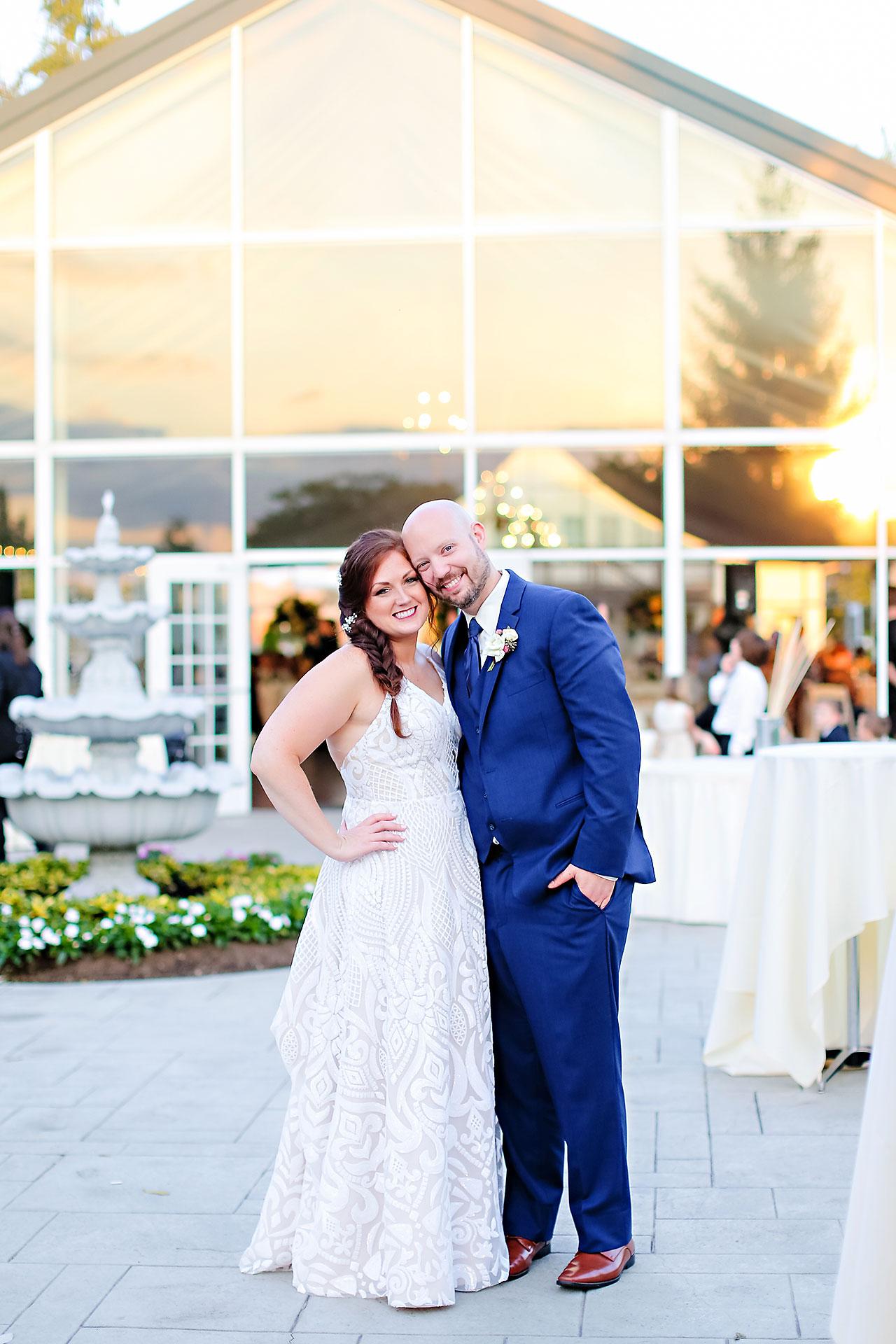 Jen Chris Ritz Charles Garden Pavilion Wedding 298