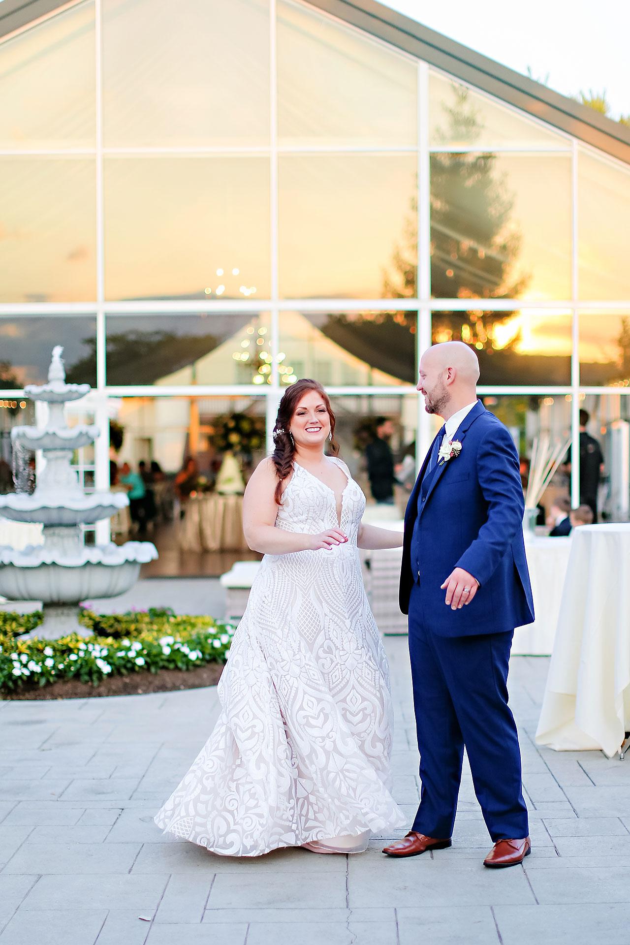 Jen Chris Ritz Charles Garden Pavilion Wedding 296