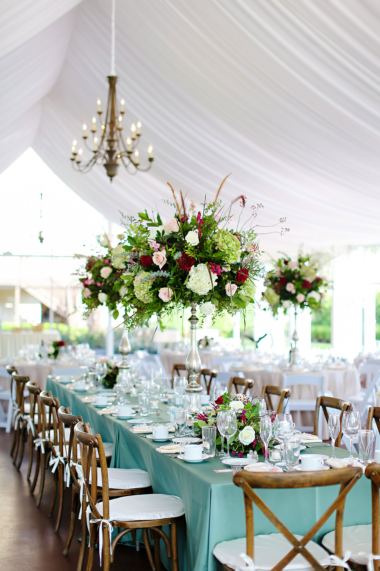 Jen Chris Ritz Charles Garden Pavilion Wedding 288