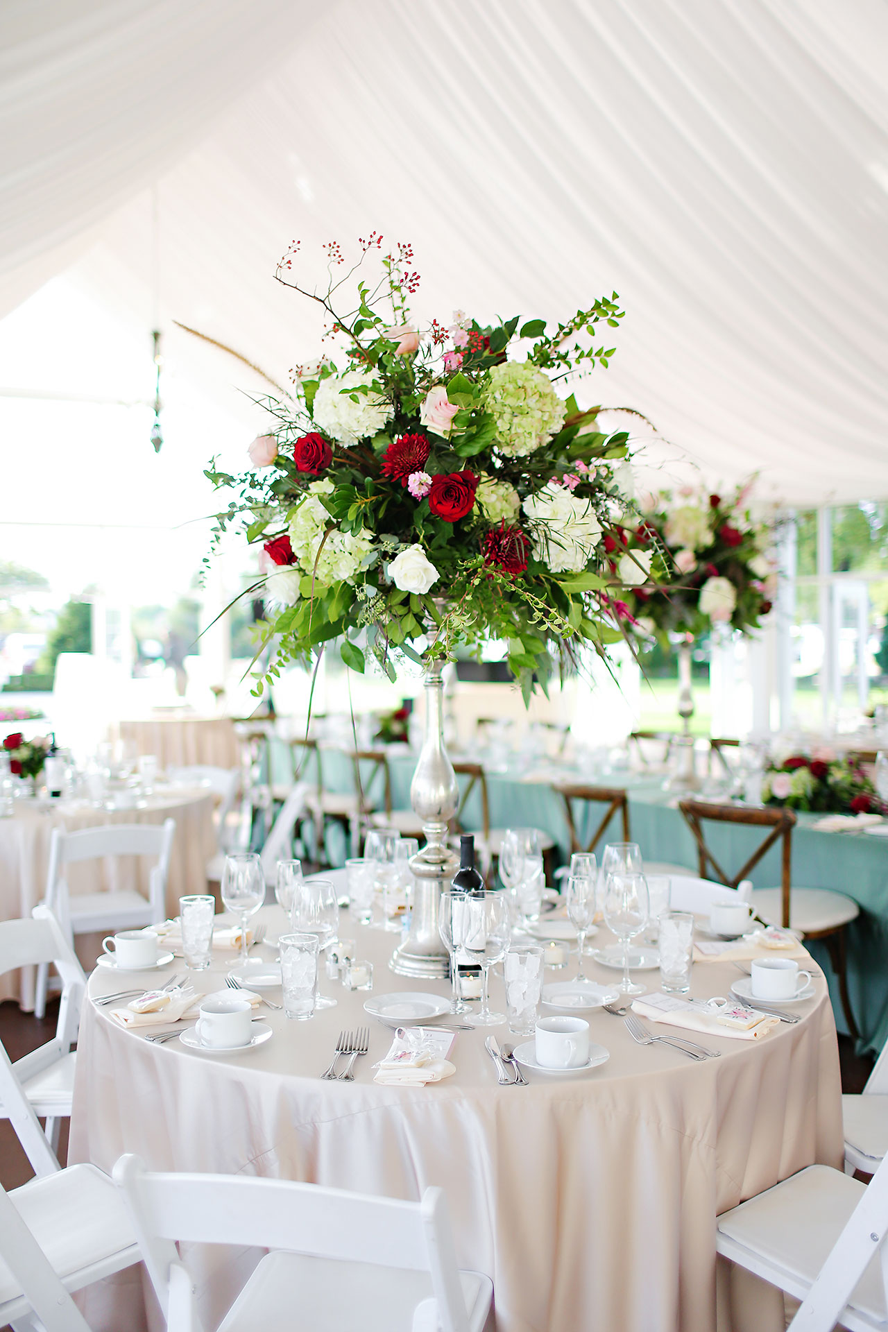 Jen Chris Ritz Charles Garden Pavilion Wedding 285
