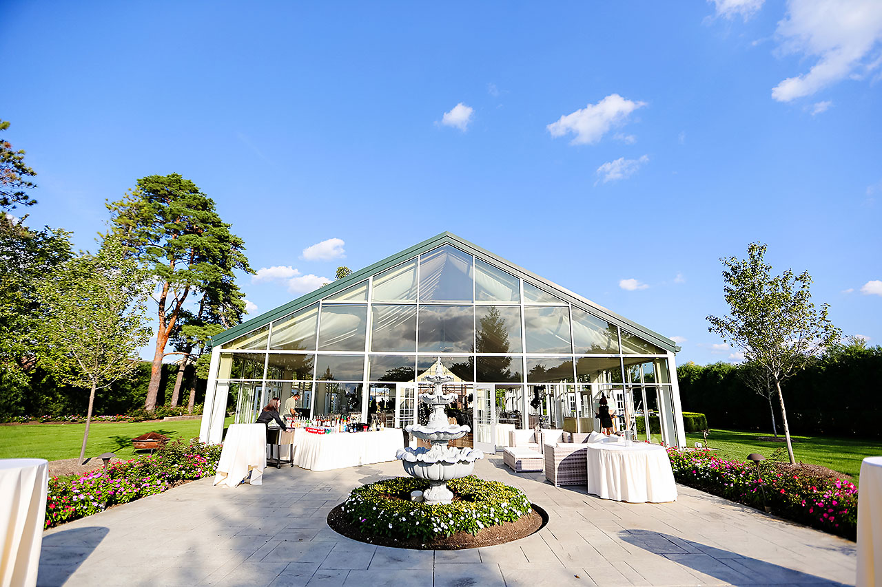 Jen Chris Ritz Charles Garden Pavilion Wedding 276