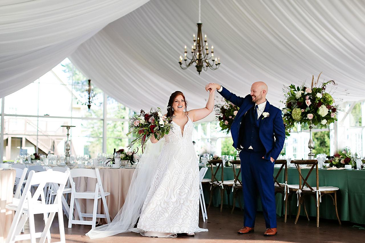 Jen Chris Ritz Charles Garden Pavilion Wedding 274