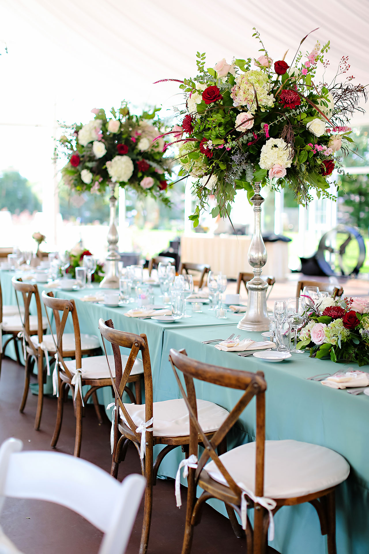 Jen Chris Ritz Charles Garden Pavilion Wedding 267