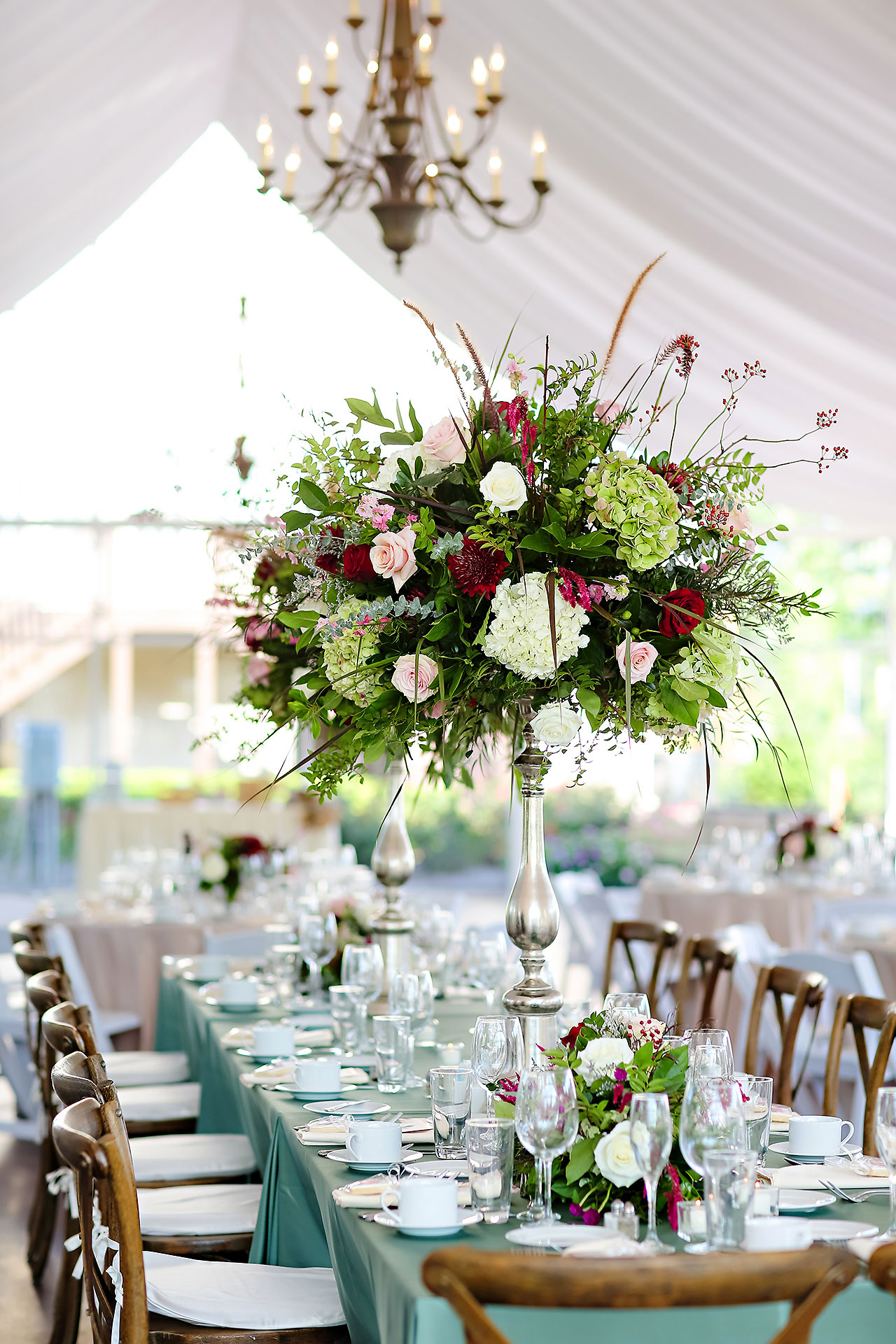Jen Chris Ritz Charles Garden Pavilion Wedding 248