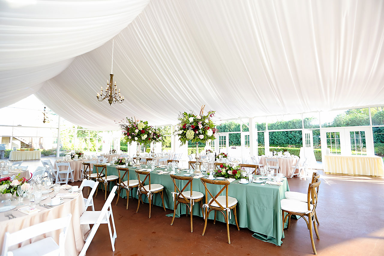 Jen Chris Ritz Charles Garden Pavilion Wedding 244