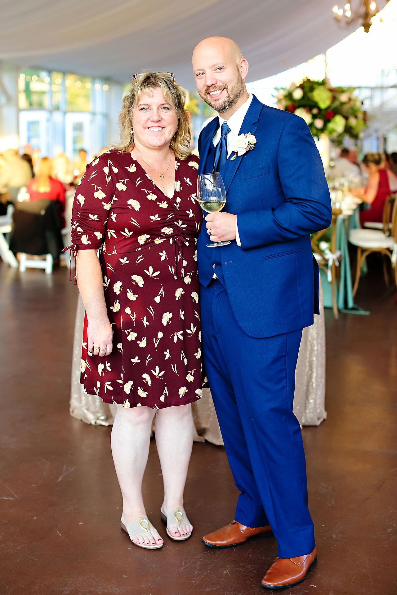 Jen Chris Ritz Charles Garden Pavilion Wedding 238