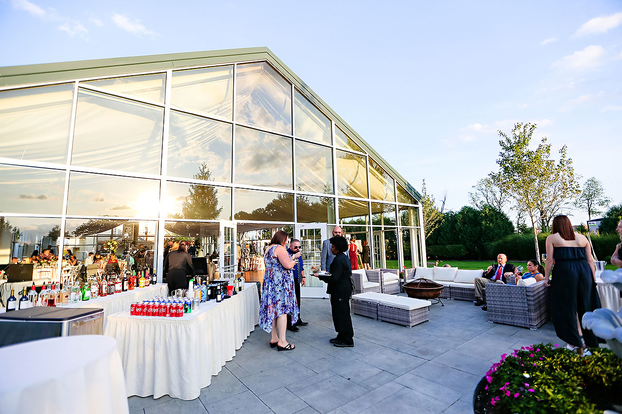 Jen Chris Ritz Charles Garden Pavilion Wedding 231
