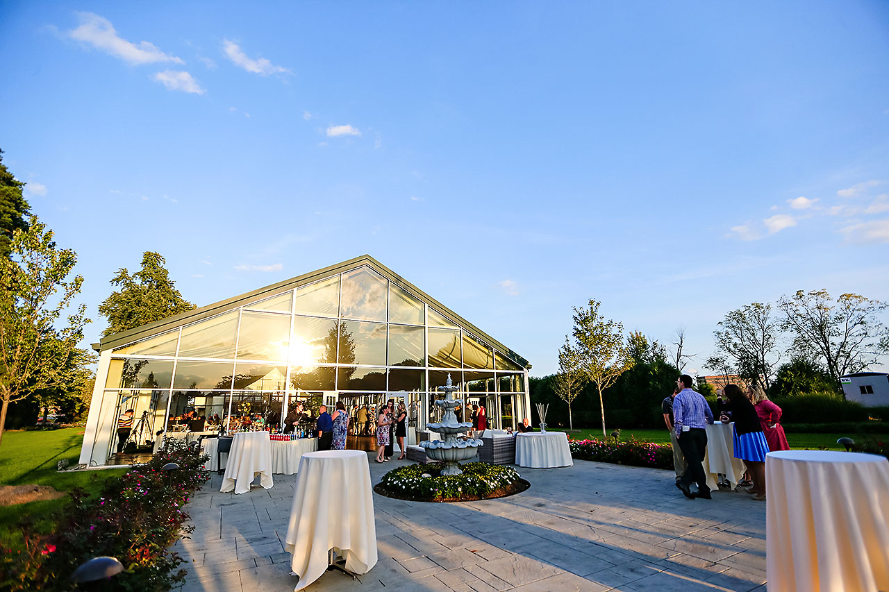 Jen Chris Ritz Charles Garden Pavilion Wedding 229