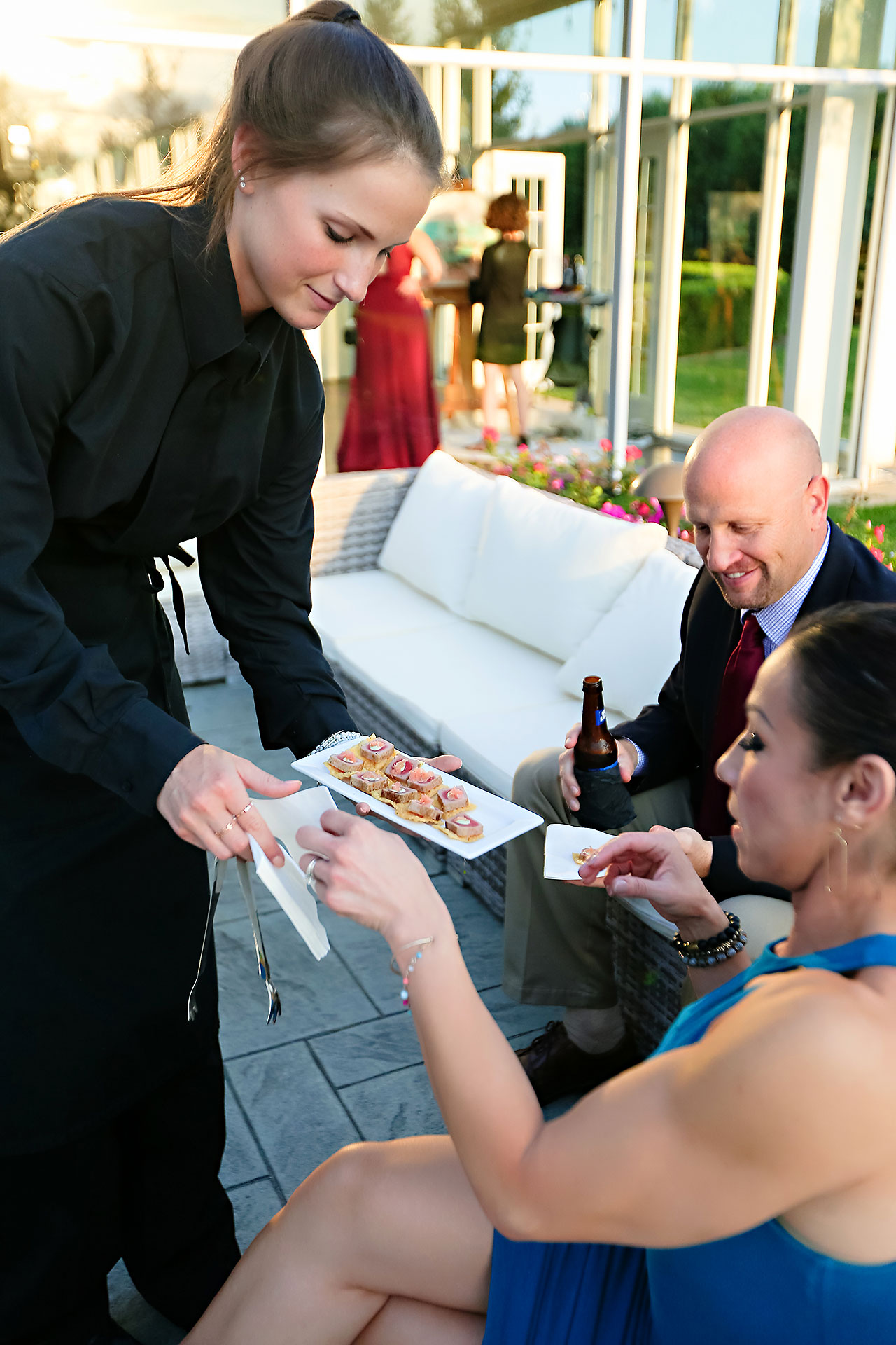 Jen Chris Ritz Charles Garden Pavilion Wedding 222