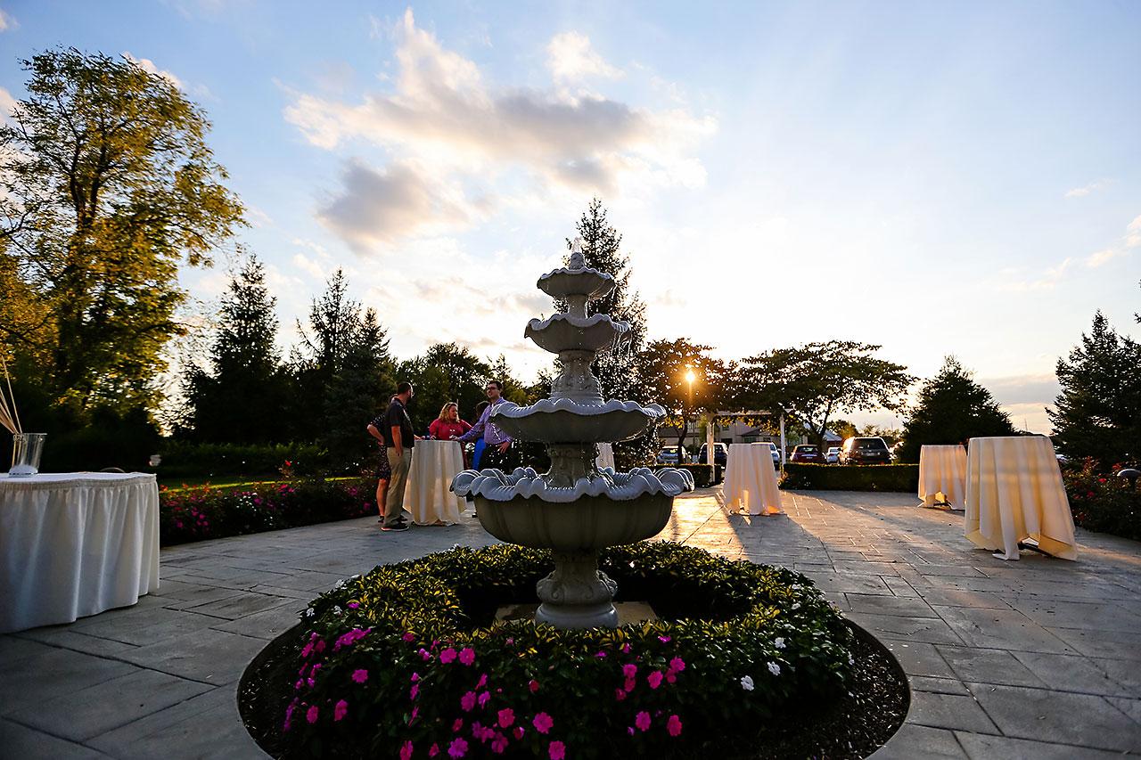 Jen Chris Ritz Charles Garden Pavilion Wedding 216