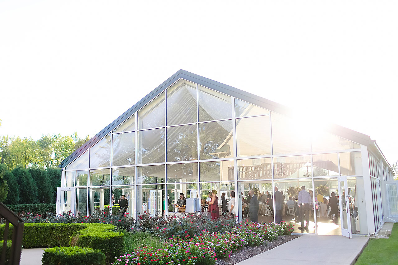 Jen Chris Ritz Charles Garden Pavilion Wedding 207