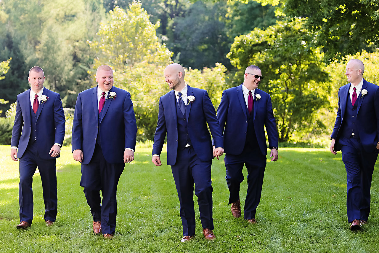 Jen Chris Ritz Charles Garden Pavilion Wedding 195