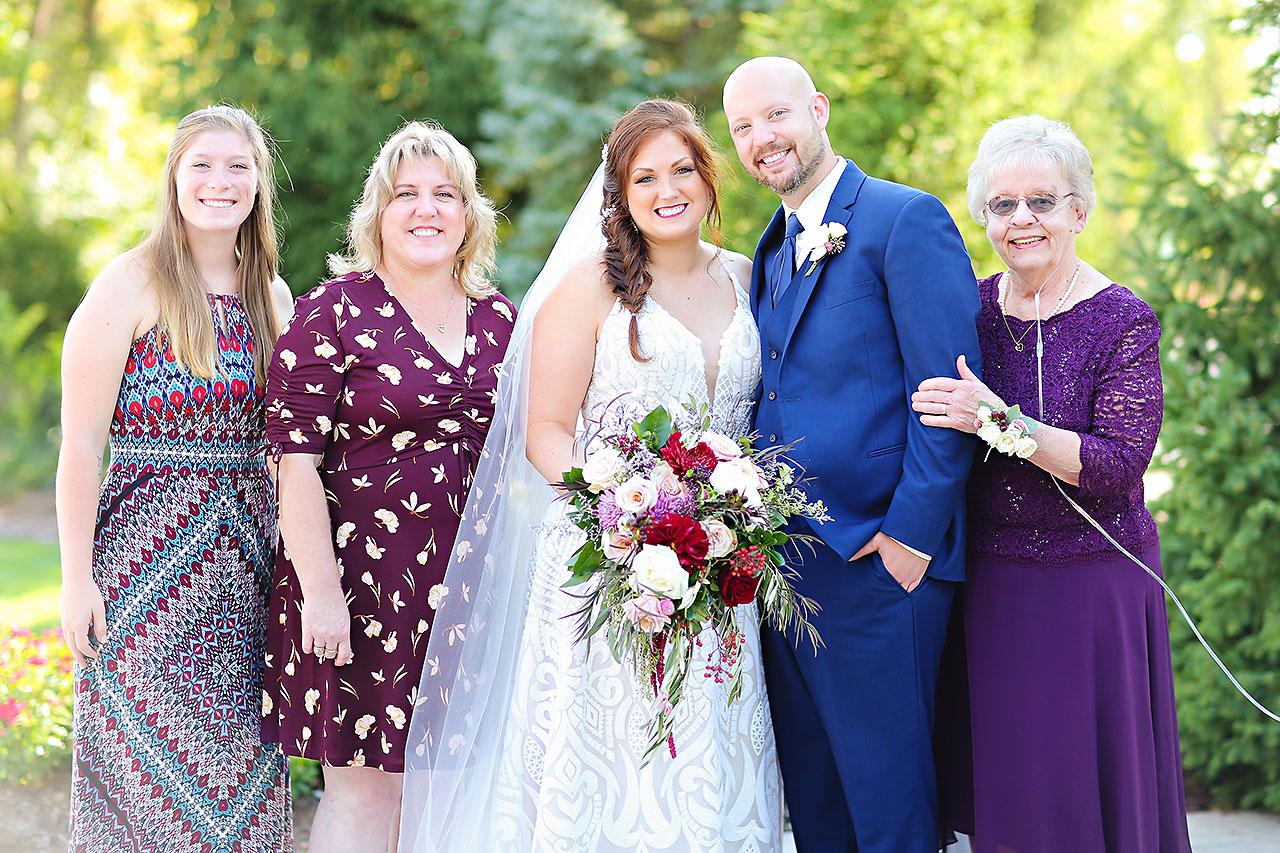 Jen Chris Ritz Charles Garden Pavilion Wedding 197