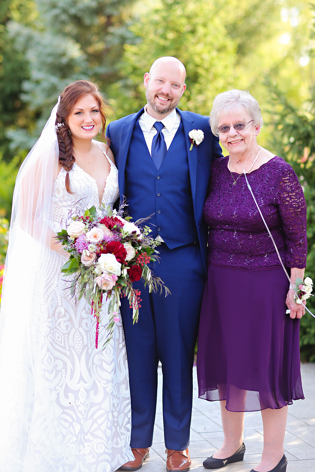 Jen Chris Ritz Charles Garden Pavilion Wedding 186