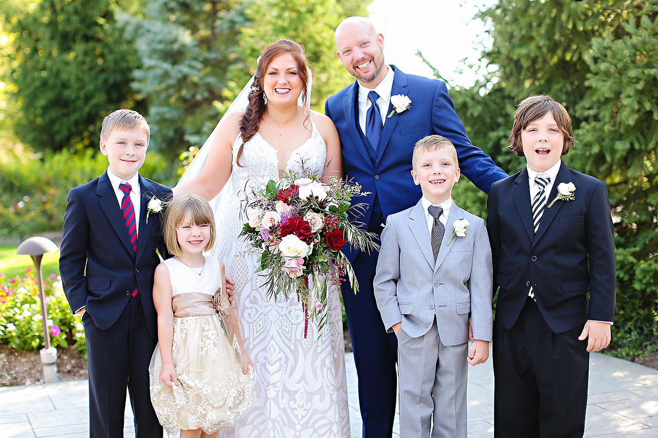 Jen Chris Ritz Charles Garden Pavilion Wedding 183
