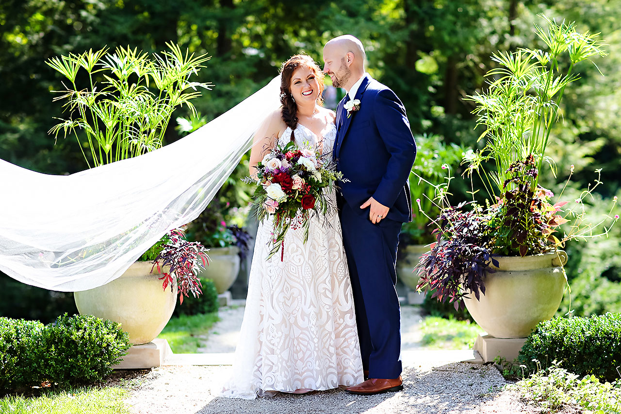Jen Chris Ritz Charles Garden Pavilion Wedding 172