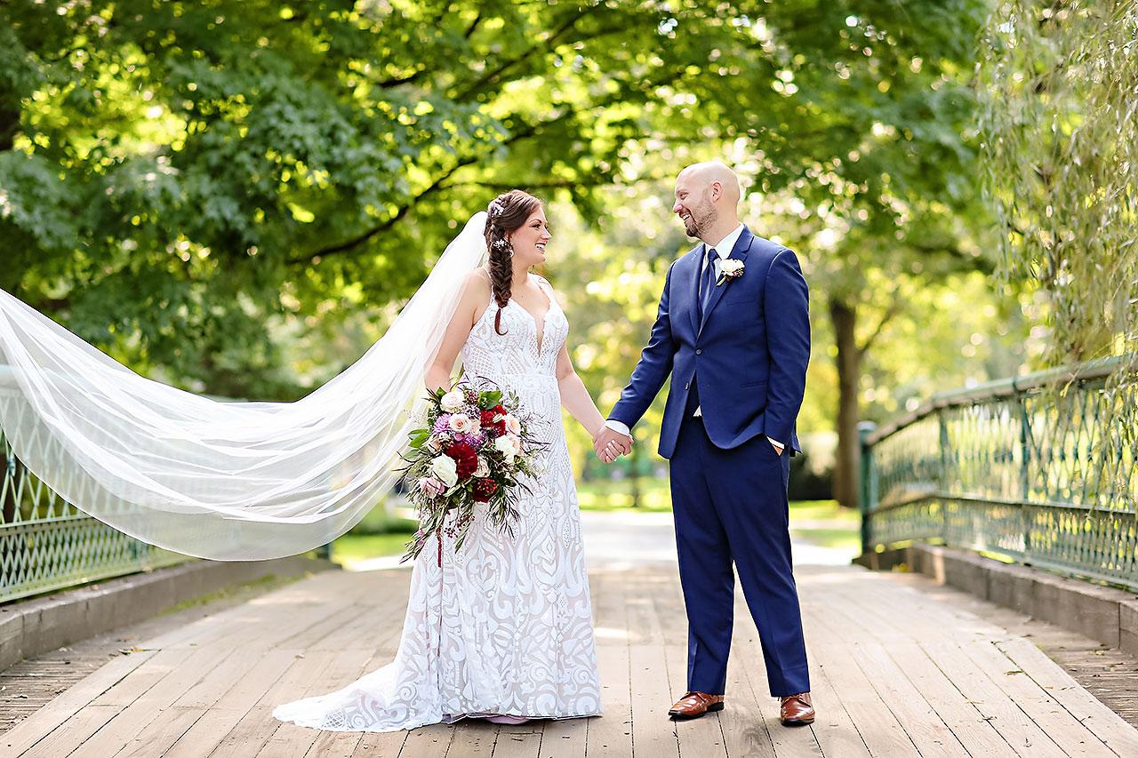 Jen Chris Ritz Charles Garden Pavilion Wedding 170