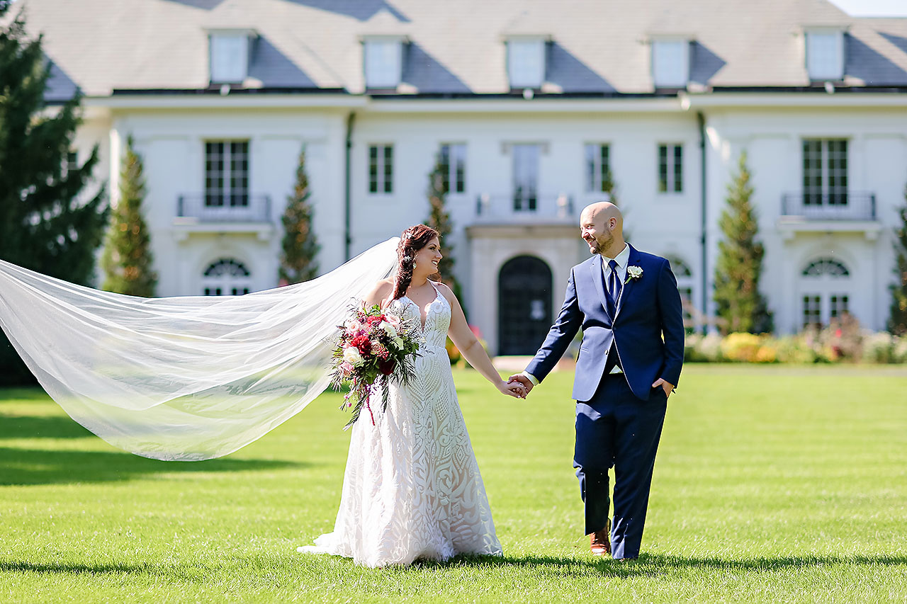 Jen Chris Ritz Charles Garden Pavilion Wedding 168