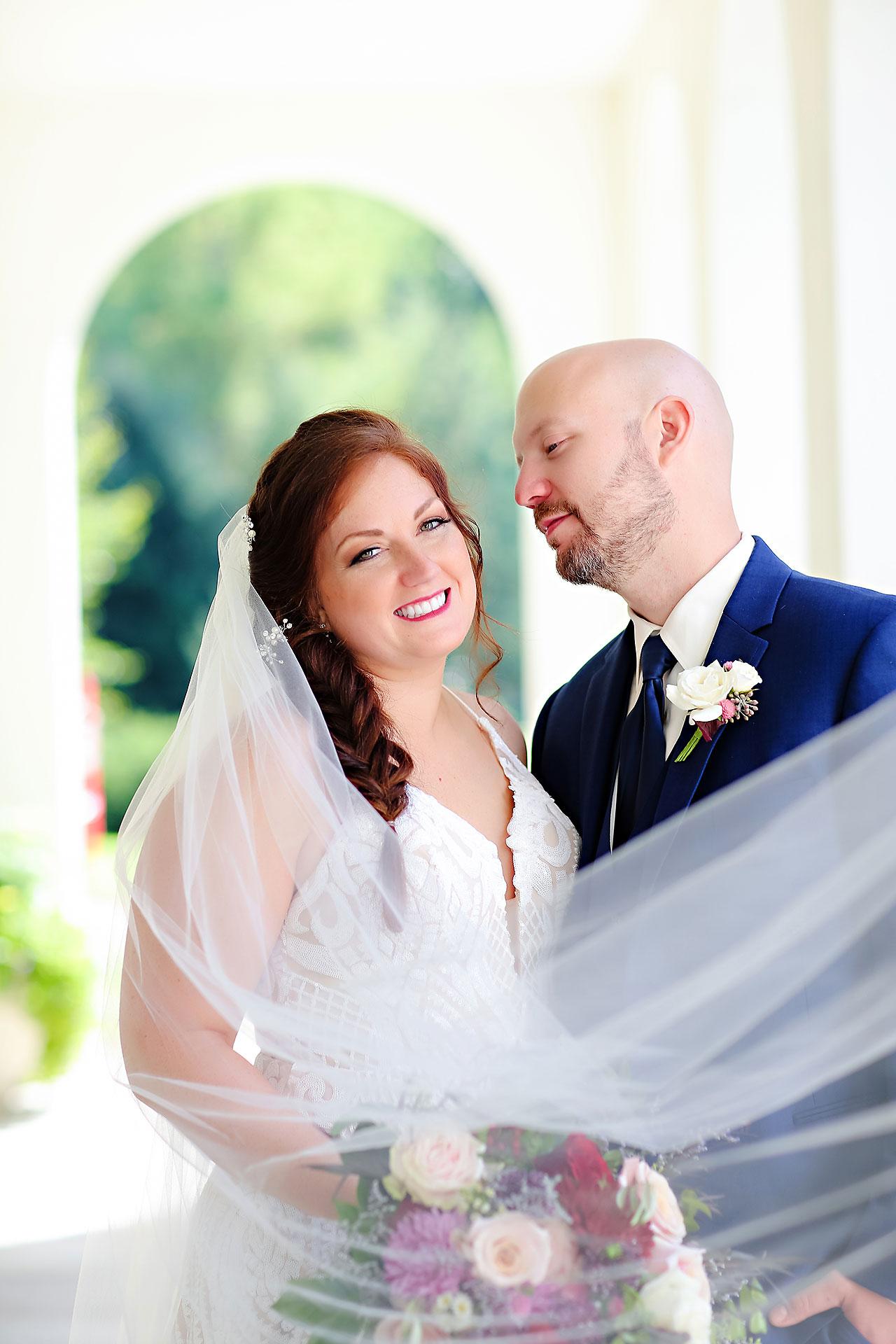 Jen Chris Ritz Charles Garden Pavilion Wedding 163