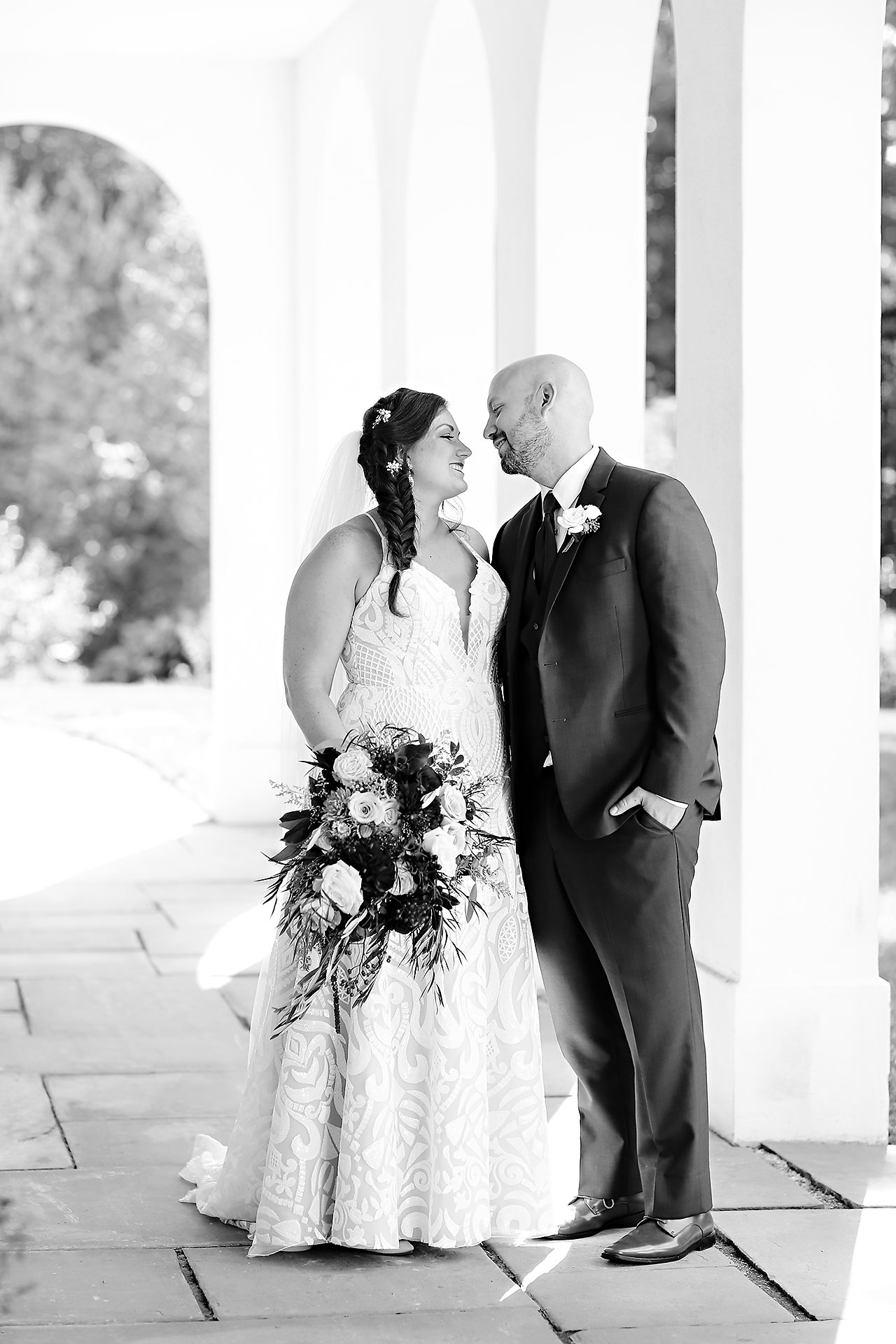 Jen Chris Ritz Charles Garden Pavilion Wedding 165