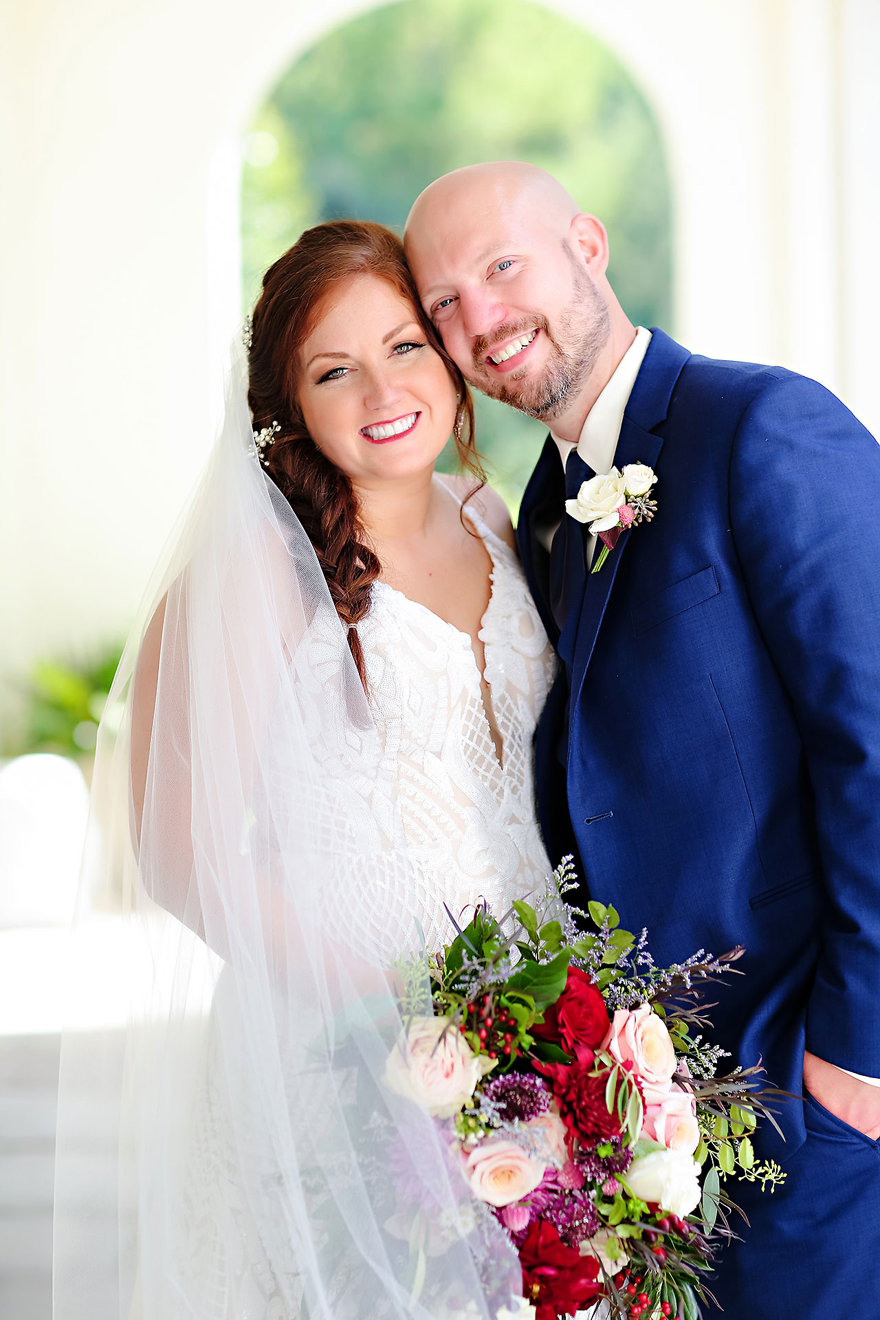 Jen Chris Ritz Charles Garden Pavilion Wedding 158