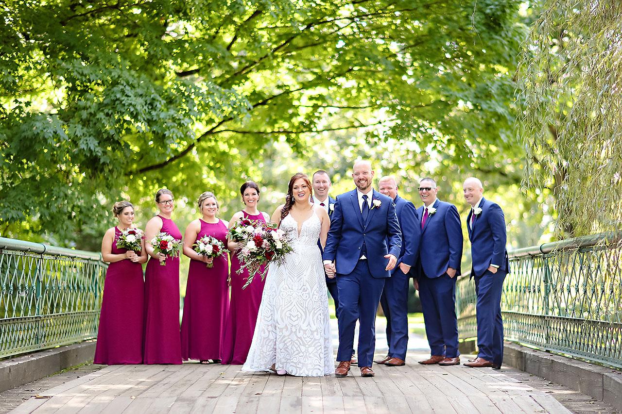 Jen Chris Ritz Charles Garden Pavilion Wedding 152