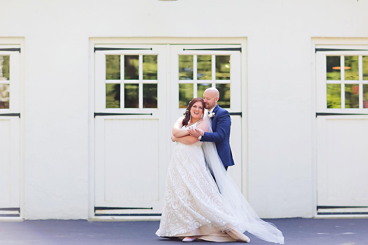 Jen Chris Ritz Charles Garden Pavilion Wedding 148