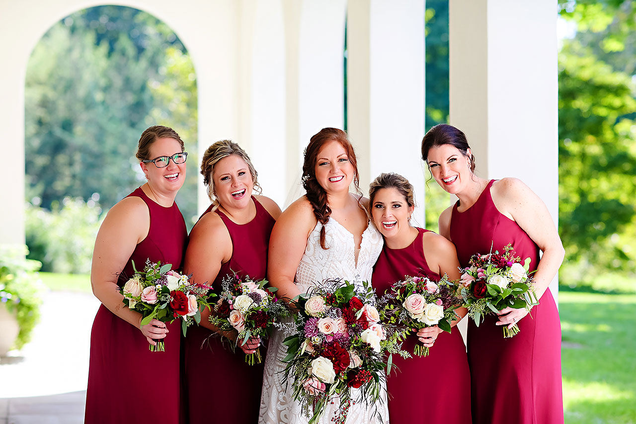 Jen Chris Ritz Charles Garden Pavilion Wedding 149