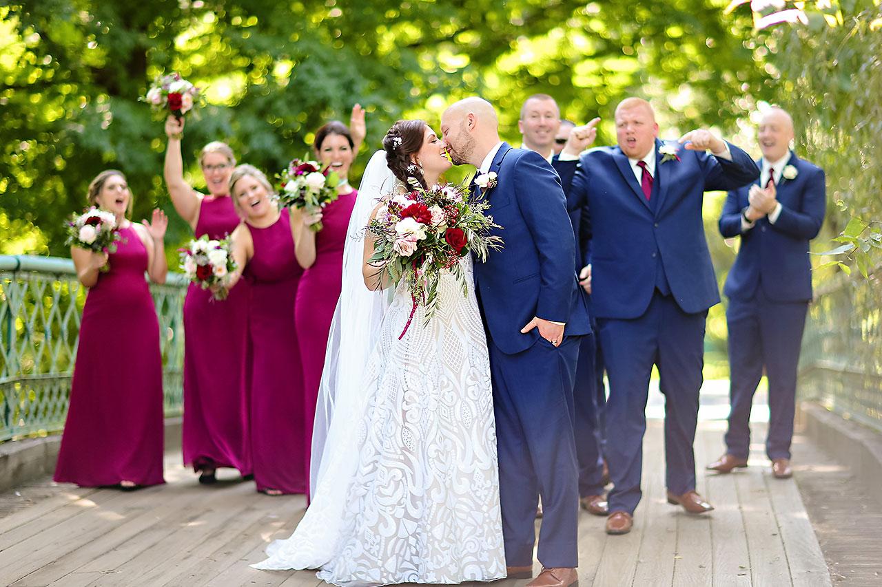 Jen Chris Ritz Charles Garden Pavilion Wedding 147