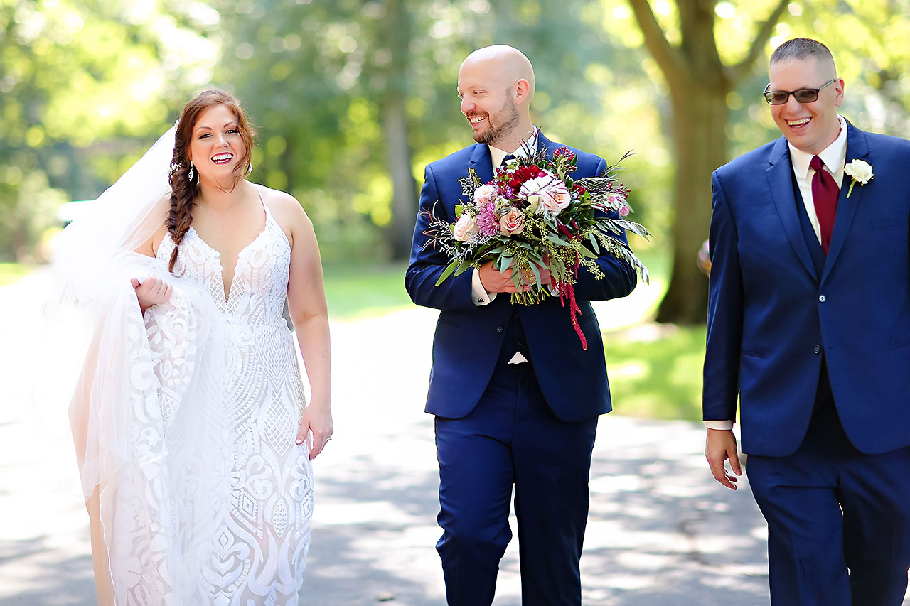 Jen Chris Ritz Charles Garden Pavilion Wedding 144
