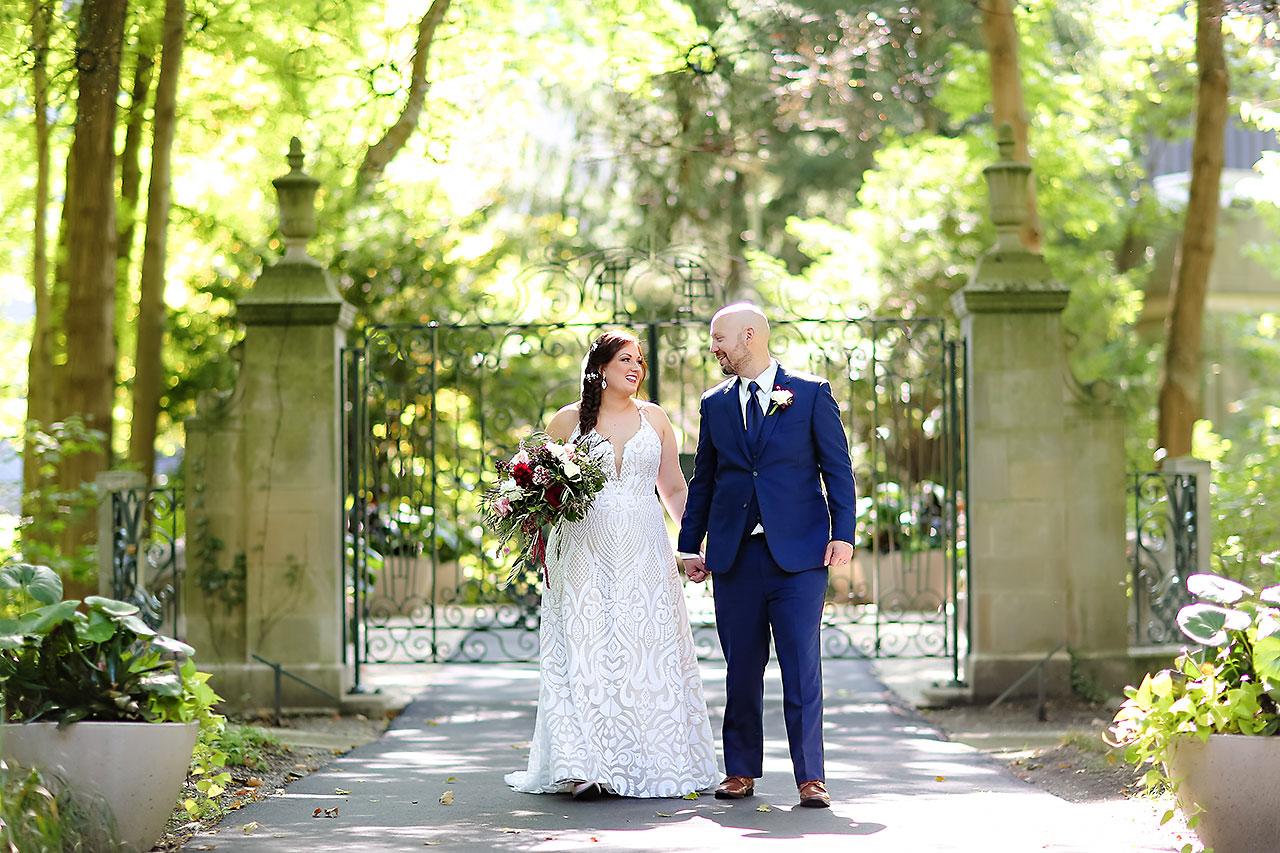 Jen Chris Ritz Charles Garden Pavilion Wedding 142