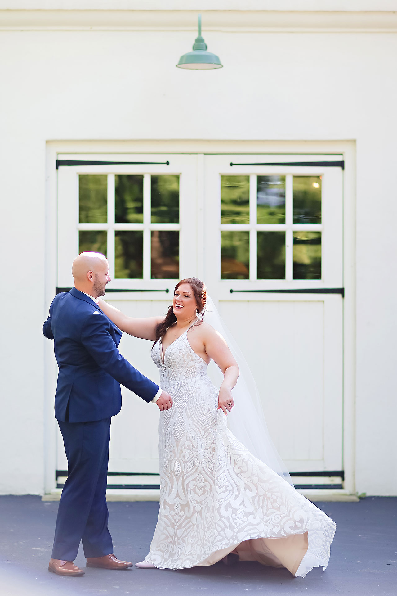 Jen Chris Ritz Charles Garden Pavilion Wedding 137