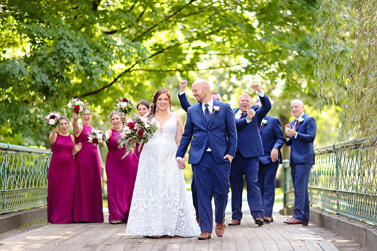 Jen Chris Ritz Charles Garden Pavilion Wedding 132