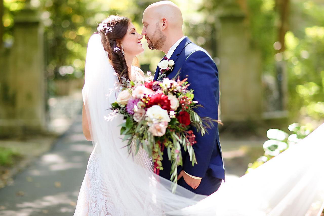 Jen Chris Ritz Charles Garden Pavilion Wedding 129