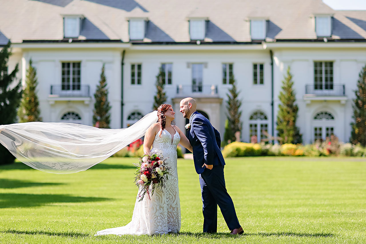 Jen Chris Ritz Charles Garden Pavilion Wedding 125