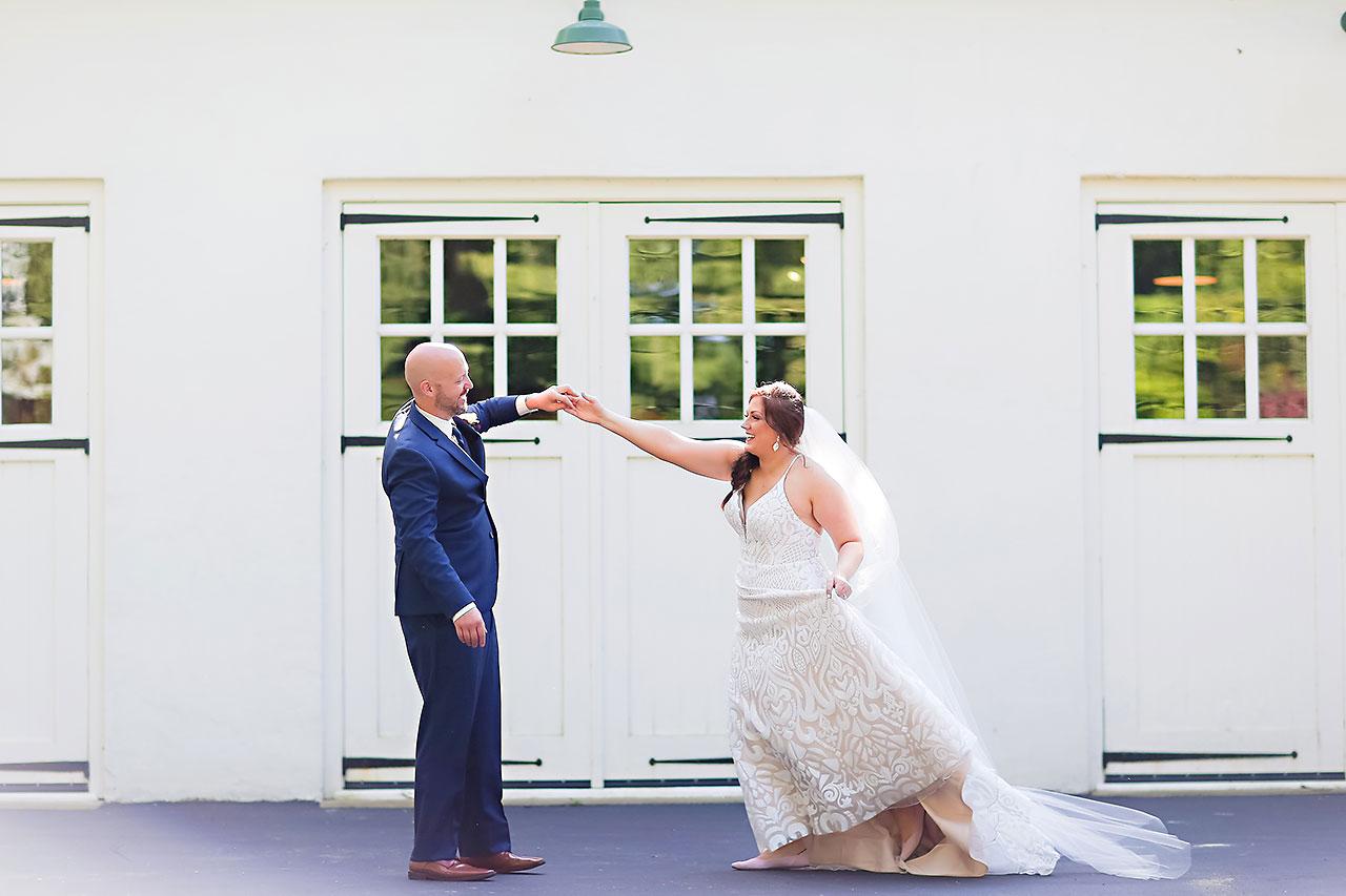 Jen Chris Ritz Charles Garden Pavilion Wedding 127
