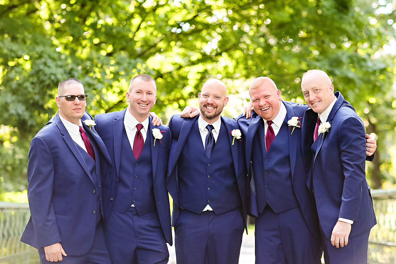 Jen Chris Ritz Charles Garden Pavilion Wedding 122